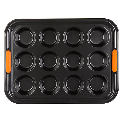 Buy Le Creuset 12 Cup Muffin Tray, L34cm Online at johnlewis.com