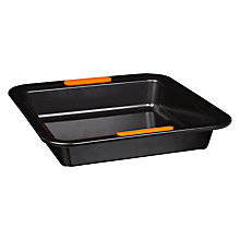 Buy Le Creuset Square Cake Tin, L23cm Online at johnlewis.com