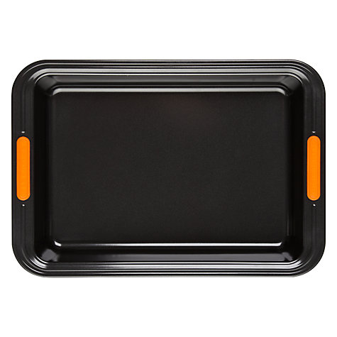 Buy Le Creuset Rectangle Cake Tin, Dia.33cm Online at johnlewis.com