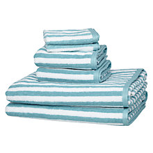 Buy John Lewis Stripe Towel Bale Online at johnlewis.com