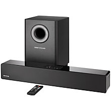 Buy Orbitsound M12 Bluetooth Sound Bar with Wireless Subwoofer, Black with FREE NOW TV Entertainment Bundle Online at johnlewis.com