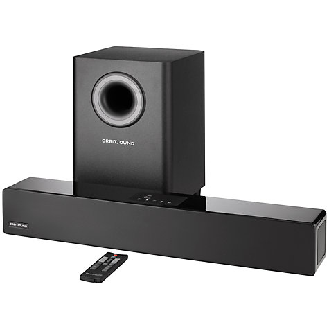 Buy Orbitsound M12 Bluetooth Sound Bar with Wireless Subwoofer Online at johnlewis.com