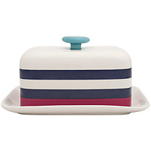 Buy Joules Stripe Butter Dish Online at johnlewis.com