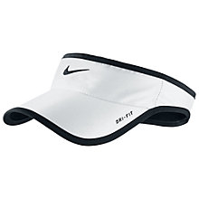 Buy Nike Feather Light Dri-FIT Visor Online at johnlewis.com