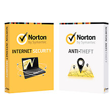 Buy Norton Internet Security 2013 and Norton Anti-Theft Bundle Online at johnlewis.com