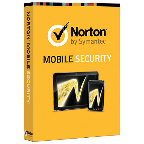 Buy Norton Mobile Security, 1 User Online at johnlewis.com