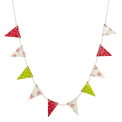 Buy Oily Rag Mixed Outdoor Bunting, Classic Online at johnlewis.com
