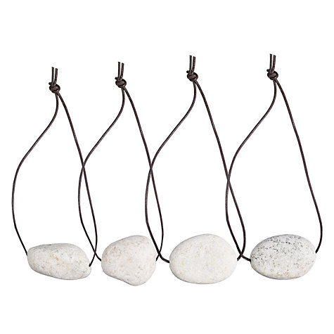 Buy Oily Rag Pebble Tablecloth Weights, Set of 4 Online at johnlewis.com