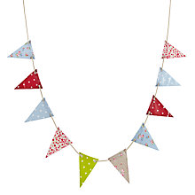 Buy Oily Rag Mixed Outdoor Bunting, Vintage Online at johnlewis.com