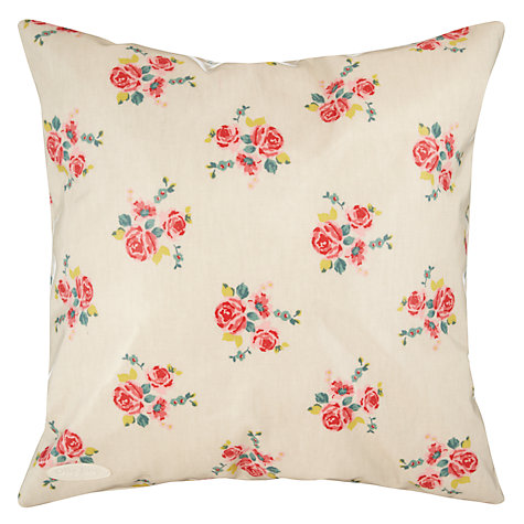 Buy Oily Rag Vintage Floral Outdoor Cushion, 40 x 40cm Online at johnlewis.com