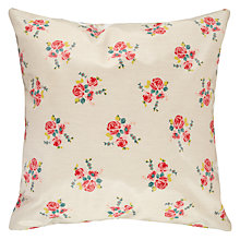 Buy Oily Rag Vintage Floral Outdoor Cushion, 50 x 50cm Online at johnlewis.com