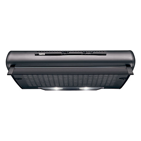Buy Zanussi ZHT610N Cooker Hood, Black Online at johnlewis.com