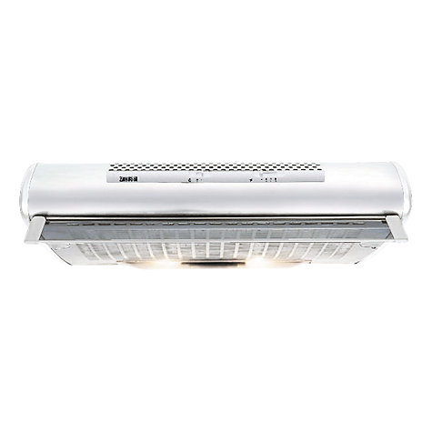 Buy Zanussi ZHT610W Cooker Hood, White Online at johnlewis.com