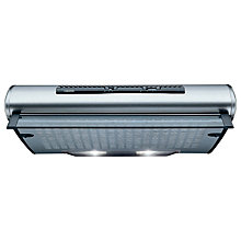 Buy Zanussi ZHT610X Cooker Hood, Stainless Steel Online at johnlewis.com