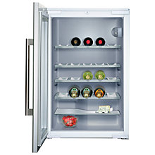 Buy Siemens KF18WA43 Integrated Wine Cooler Online at johnlewis.com