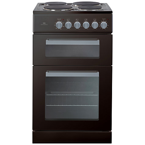 Buy New World EDF50B Electric Cooker, Black Online at johnlewis.com