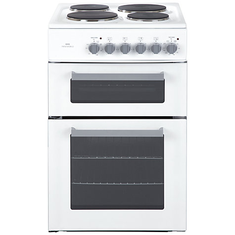 Buy New World EDF50W Electric Cooker, White Online at johnlewis.com