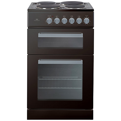 Buy New World ED50B Electric Cooker, Black Online at johnlewis.com