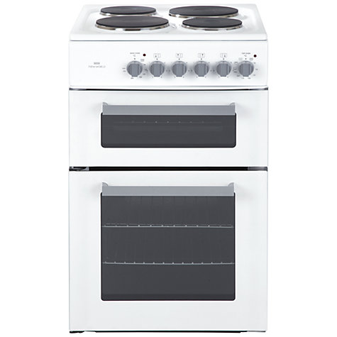 Buy New World ED50W Electric Cooker, White Online at johnlewis.com