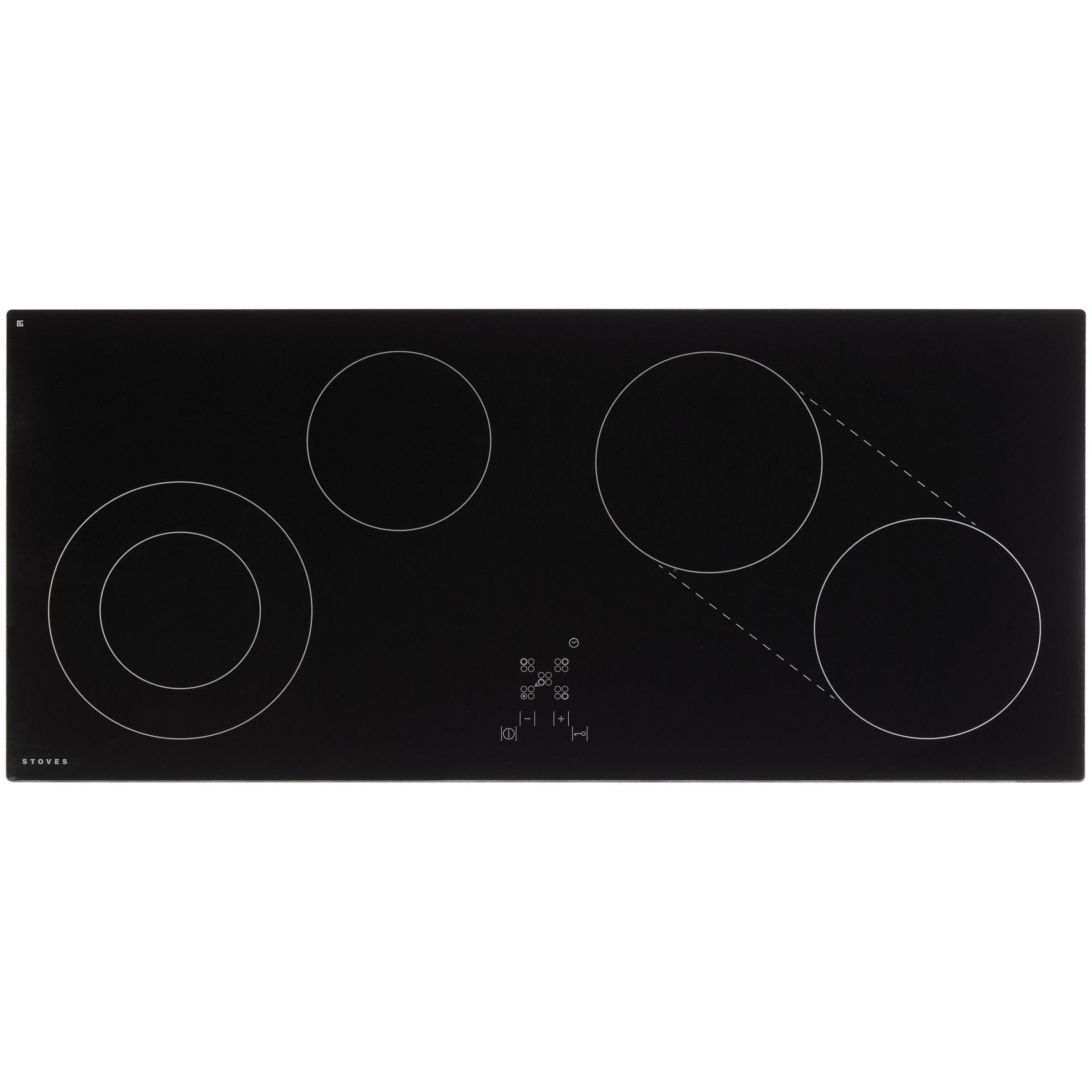 Stoves Stoves SEH900CTC Ceramic Hob, Black