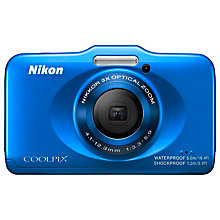"Buy Nikon Coolpix S31 Digital Camera, HD 720p, 10MP, 3x Optical Zoom, 2.7"" LCD Screen Online at johnlewis.com"