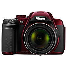"Buy Nikon Coolpix P520 Bridge Camera, HD 1080p, 18.1MP, 42x Optical Zoom, GPS, 3.2"" Screen with 16GB + 8GB Memory Card Online at johnlewis.com"