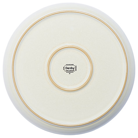 Buy Denby Linen Breakfast Plate, Dia.25cm Online at johnlewis.com