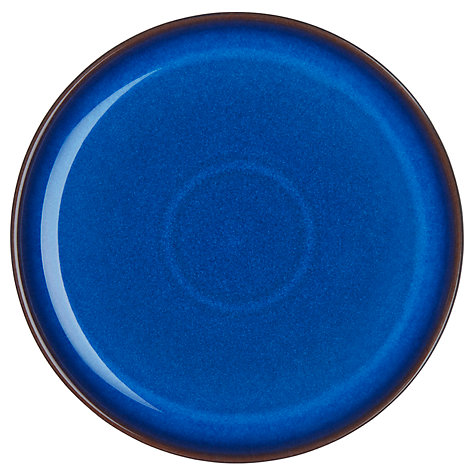 Buy Denby Imperial Blue Coupe Dinner Plate, Dia.25cm Online at johnlewis.com