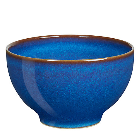 Buy Denby Imperial Blue Small Bowl, Dia 10.5cm Online at johnlewis.com