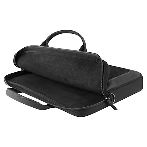 "Buy Targus Cammeo Slipcase 15.6"" Laptop Messenger Bag, Black Online at johnlewis.com"