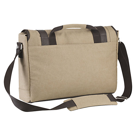 "Buy Targus City Fusion 15.6"" Laptop Messenger Bag, Beige Online at johnlewis.com"
