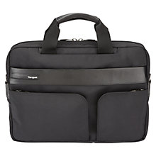 "Buy Targus Lomax 15.6"" Laptop Topload Case, Black Online at johnlewis.com"