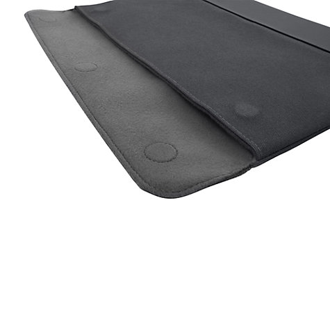 "Buy Targus Ultralife Canvas 13.3"" Laptop Sleeve, Grey Online at johnlewis.com"