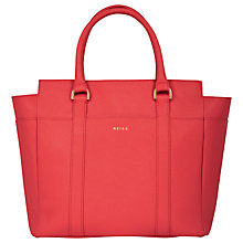 Buy Reiss Zipper Tote Handbag, Watermelon Online at johnlewis.com