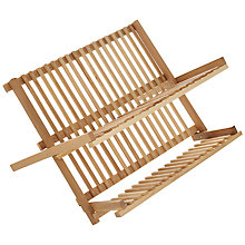 Buy John Lewis FSC Wood Dish Rack Online at johnlewis.com