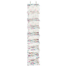 Buy Cath Kidston Hanging Shoe Tidy, Trailing Floral Online at johnlewis.com