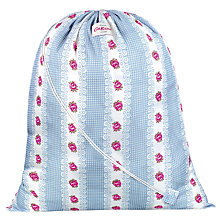 Buy Cath Kidston Laundry Bag, Gingham Rose Online at johnlewis.com