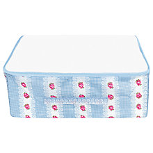 Buy Cath Kidston Underbed Storage Bag, Gingham Rose Online at johnlewis.com
