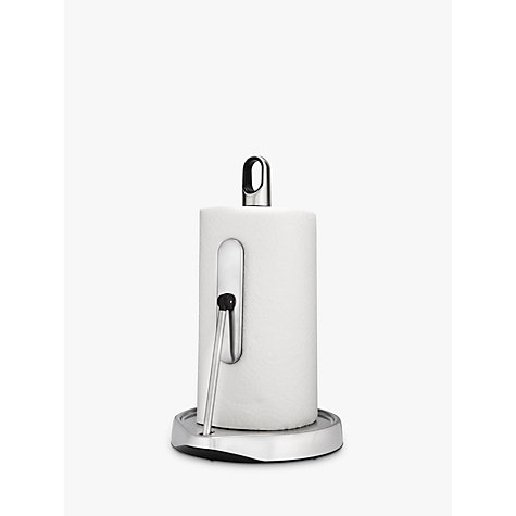 Buy simplehuman Tension Arm Kitchen Roll Holder Online at johnlewis.com