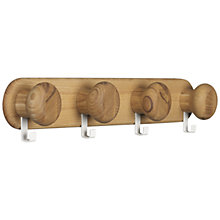 Buy House by John Lewis Mutiple Knob Hook Online at johnlewis.com