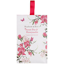 Buy Heathcote & Ivory Scented Sachet,  Sweet Pea & Honeysuckle Online at johnlewis.com