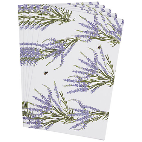 Buy Heathcote & Ivory Scented Drawer Liners, Wild English Lavender Online at johnlewis.com