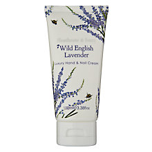 Buy Heathcote & Ivory Wild English Lavender Luxury Hand & Nail Cream, 100ml Online at johnlewis.com