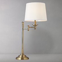 Buy John Lewis Dominic Brass Table Lamp Online at johnlewis.com