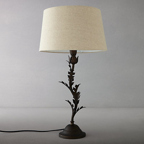 Buy John Lewis Archie Leaves Bronze Table Lamp, Bronze Online at johnlewis.com
