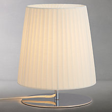 Buy John Lewis Audrey Touch Table Lamp, Ivory Online at johnlewis.com