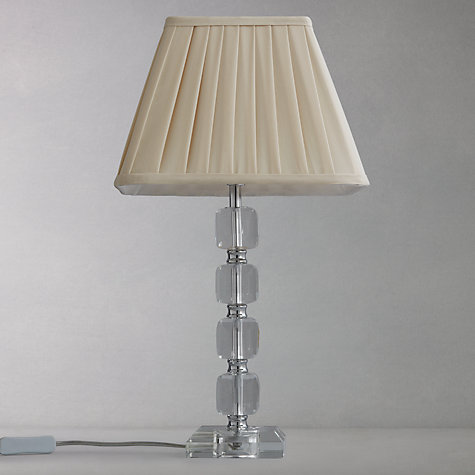 Buy John Lewis Auriel Squares Glass Table Lamp Online at johnlewis.com