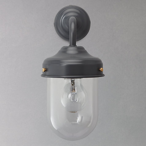 Buy Garden Trading Company Barn Outdoor Wall Light, Steel Online at johnlewis.com