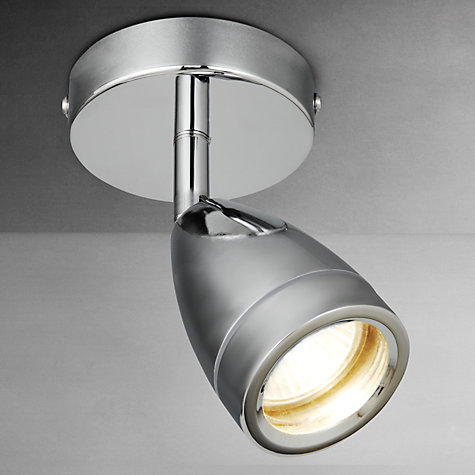 Buy John Lewis Blake Bathroom Spotlight, Chrome Online at johnlewis.com