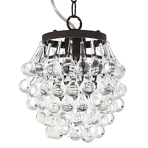 Buy John Lewis Carmine Rustic Grapes Pendant Online at johnlewis.com
